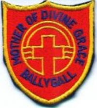 Mother of Divine Grace, Ballygall Logo